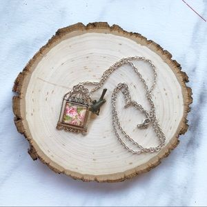 Antiques Bird Cage Necklace